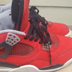 Nike Air Jordan 4 Retro Red Size 12